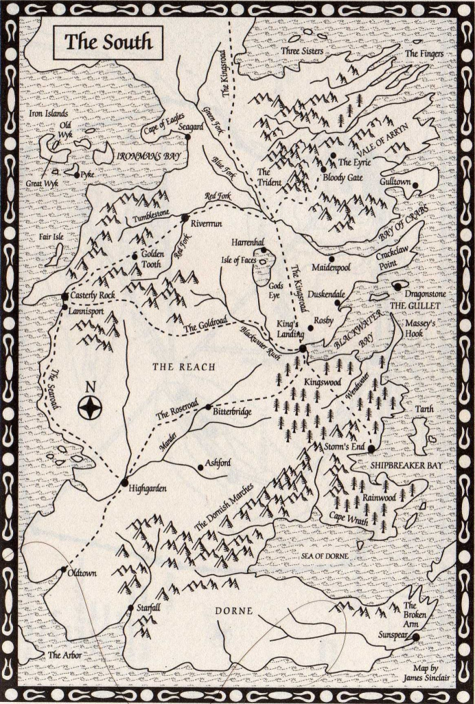 Pintess Richardson On Fictional Places & Spaces In 2019 | Game in Game Of Thrones Printable Map