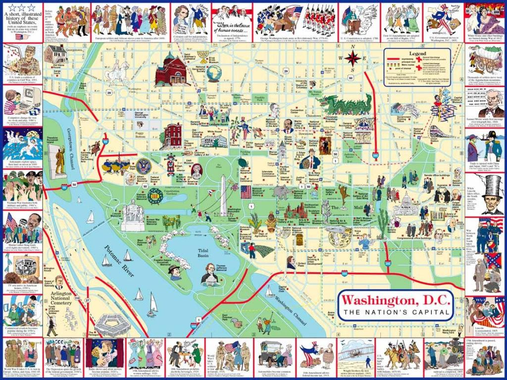 Plan It: Four Days With The Kids In Washington, Dc | Road Trip with regard to Printable Walking Map Of Washington Dc