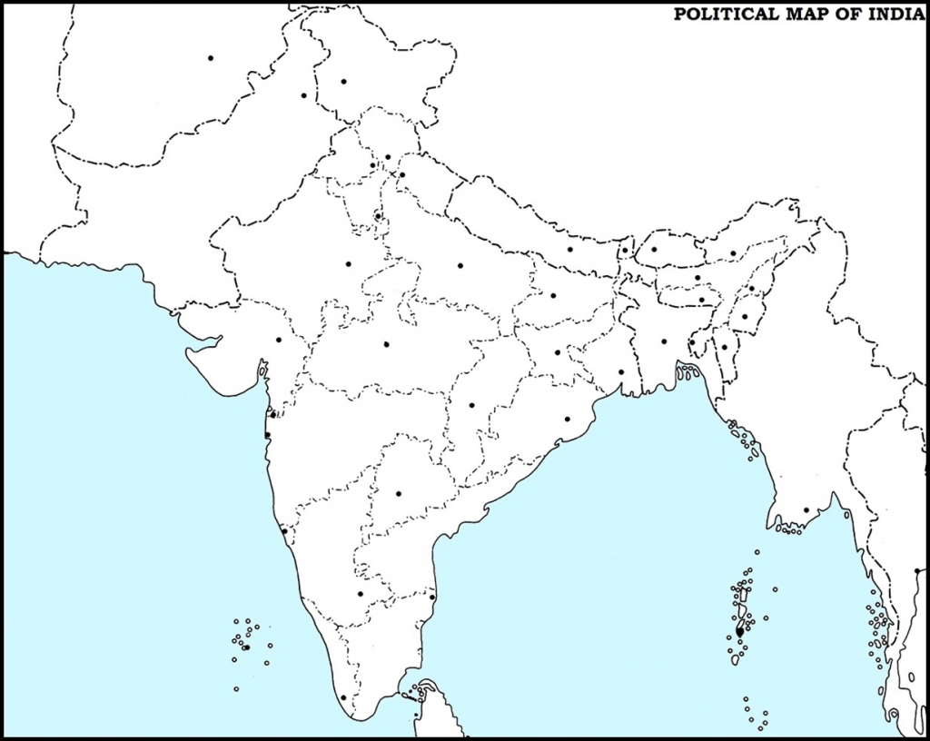 Political Map Of India Blank | Compressportnederland in Blank Political Map Of India Printable