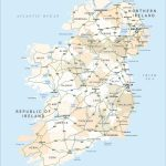 Political Map Of Ireland   Royalty Free Editable Vector   Maproom Pertaining To Free Printable Map Of Ireland