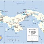 Political Map Of Panama   Nations Online Project Regarding Printable Map Of Panama