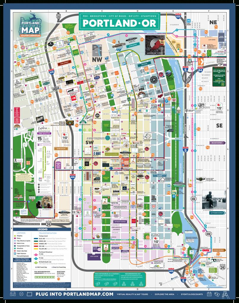 Portland Map Online – Portlandmap in Printable Map Of Portland Oregon