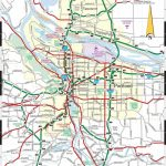 Portland Oregon Map   Map Of Portland Oregon (Oregon   Usa) Intended For Printable Map Of Portland Oregon