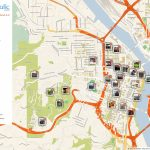 Portland Printable Tourist Map In 2019 | Travel Tips And Maps Inside Printable Map Of Portland Oregon