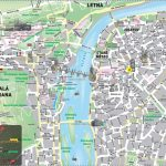 Prague Center Map   Map Of Prague City Centre In English (Bohemia For Printable Map Of Prague City Centre