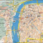Prague City Center Map With Prague City Map Printable