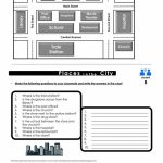 Prepositions Of Place Map Practice Worksheet   Free Esl Printable Throughout Printable Map Activities
