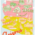 Printable Arizona Mapkristen Long X Aww Sam | Illustrations In Pertaining To Free Printable Map Of Arizona