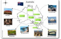 Free Printable Map Of Australia
