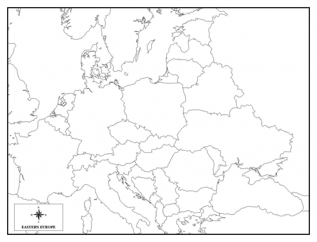 Printable Blank Africa Map Quiz Diagram And Europe 7 - World Wide Maps within Europe Map Quiz Printable