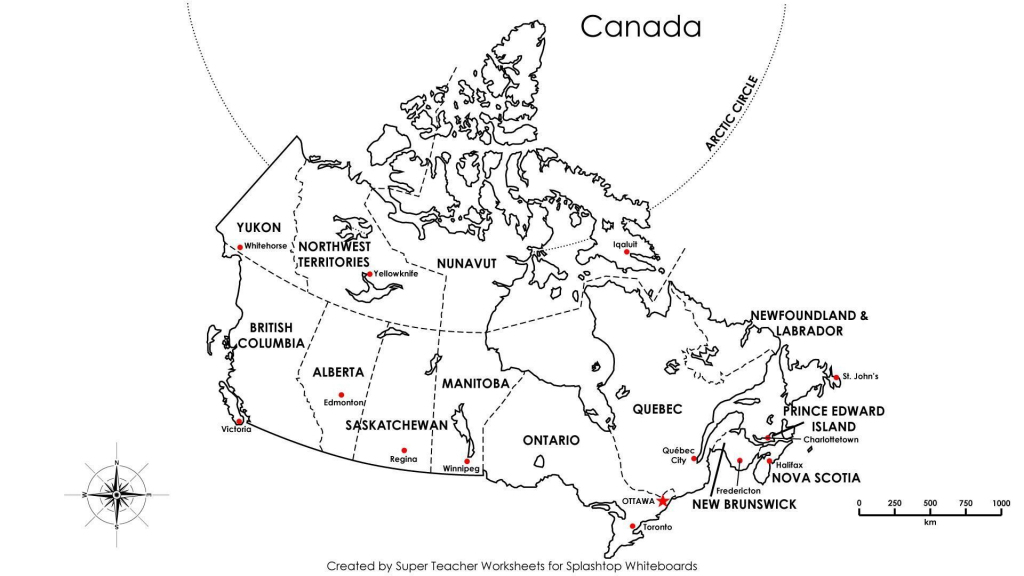 Printable Blank Map Canada Label 17 Random 2 Of With Labels 7 throughout Printable Blank Map Of Canada To Label