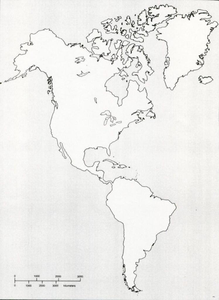 Printable Blank Map Of Western Hemisphere Diagram With X | Ap World intended for Western Hemisphere Map Printable