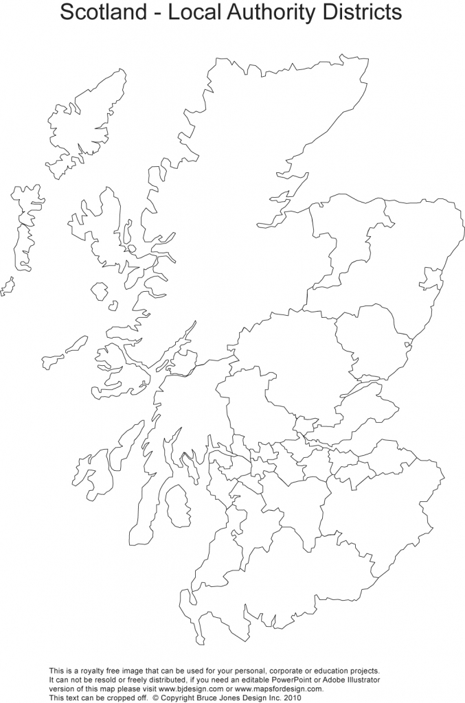 Printable, Blank Uk, United Kingdom Outline Maps • Royalty Free pertaining to Blank Map Of Scotland Printable