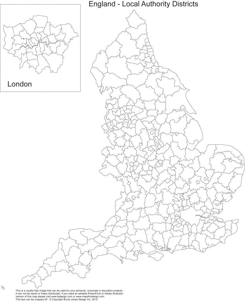 Printable, Blank Uk, United Kingdom Outline Maps • Royalty Free throughout Printable Map Of Uk Counties