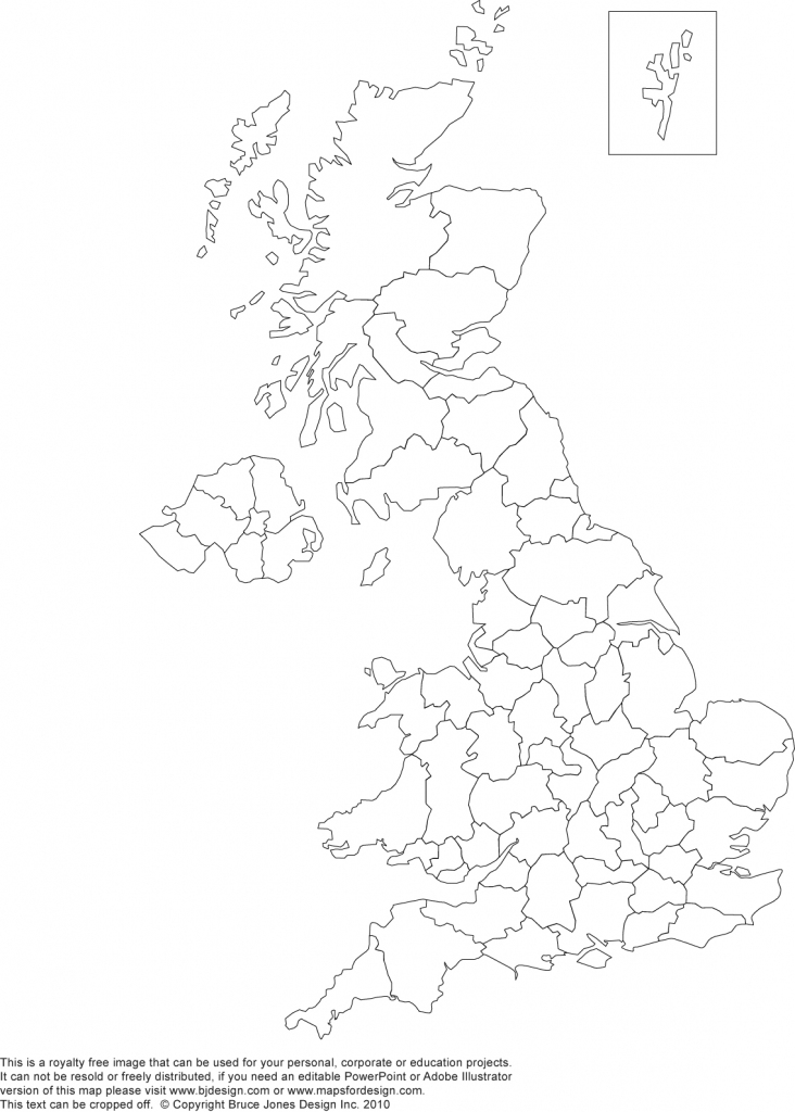 Printable, Blank Uk, United Kingdom Outline Maps • Royalty Free throughout Uk Map Printable Free