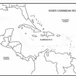 Printable Caribbean Islands Blank Map Diagram Of Central America And For Printable Blank Caribbean Map
