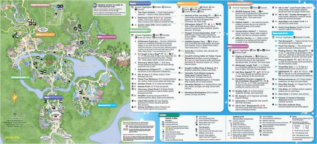 Printable Disney World Maps 2017 | Printable Maps throughout Printable Disney World Maps 2017