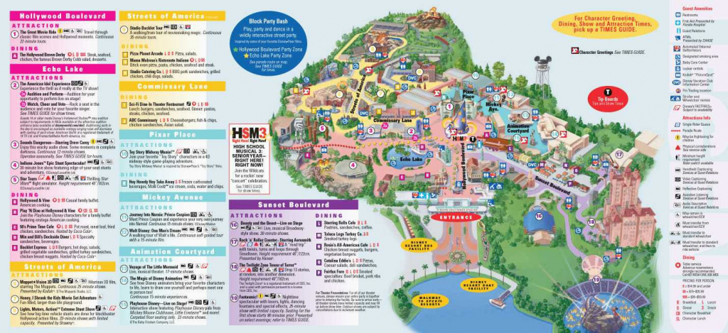 Printable Disney World Maps | Printable Maps regarding Printable Disney Park Maps