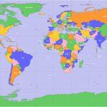 Printable Large World Mapimage Gallerycountries Of The World With Large Printable World Map