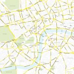 Printable London Street Map Maproom Central Major Features 2 In Of 8 Pertaining To Printable Street Maps