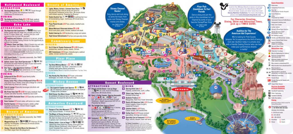 Printable Map Animal Kingdom Beautiful Walt Disney World Maps Within with Maps Of Disney World Printable