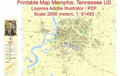 Memphis City Map Printable