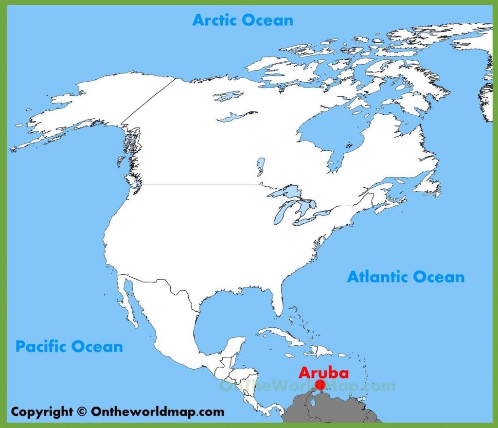 Printable Map Of Aruba | D1Softball pertaining to Printable Map Of Aruba