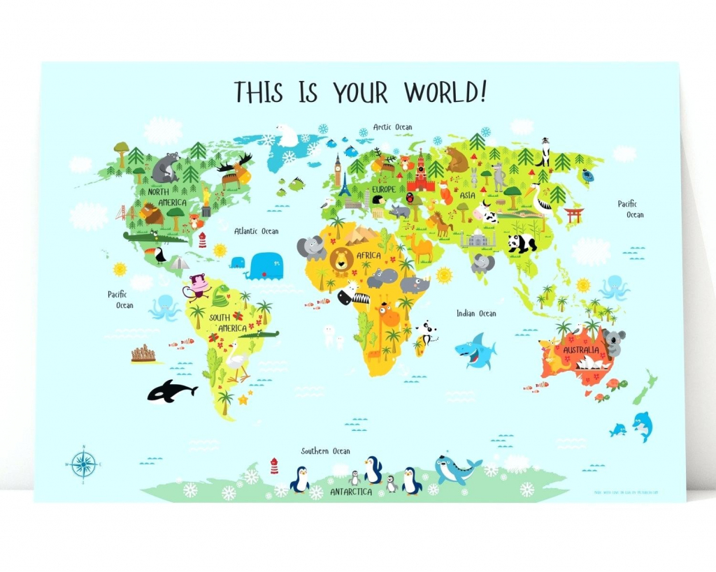 Printable Map Of Asia For Kids - World Wide Maps for Printable Map Of Asia For Kids
