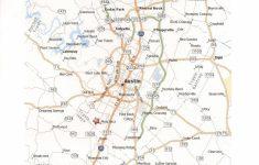 Printable Map Of Austin
