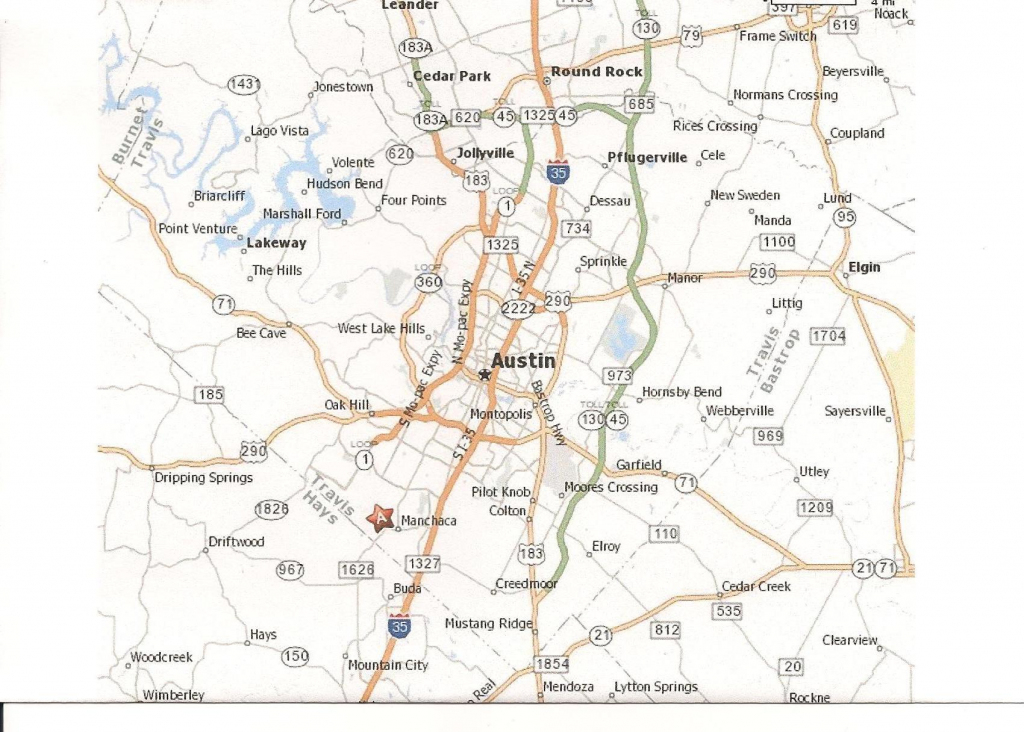 Printable Map Of Austin Texas And Surrounding Cities Neighborhoods intended for Printable Map Of Austin