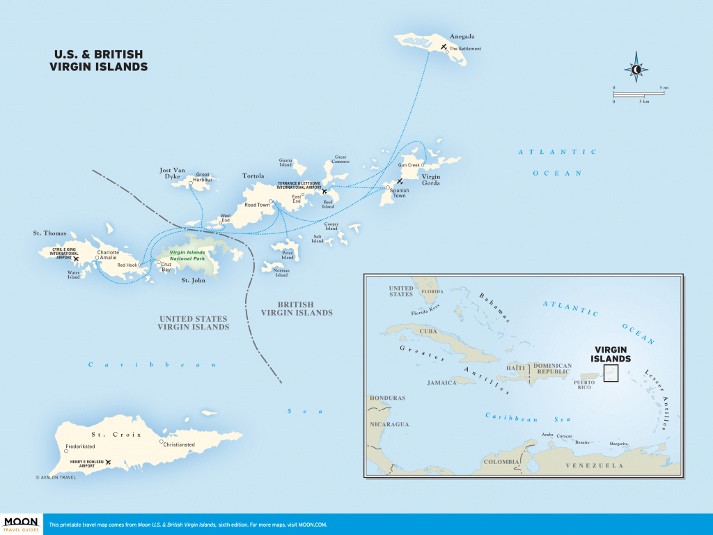 Printable Map Of Caribbean Islands And Travel Information | Download within Maps Of Caribbean Islands Printable