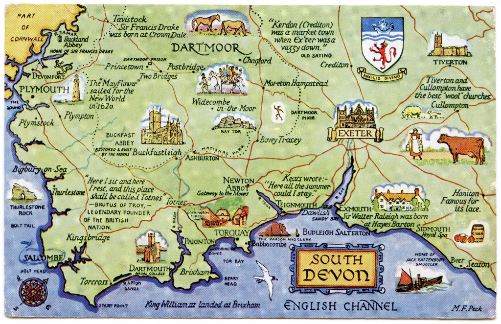Printable Map Of Cornwall And Devon - Saferbrowser Yahoo Image in Printable Map Of Cornwall