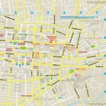 Printable Map Of Downtown Los Angeles And Travel Information Intended For Printable Map Of Los Angeles