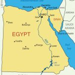 Printable Map Of Egypt   Map Of Egypt Printable (Northern Africa Regarding Printable Map Of Egypt