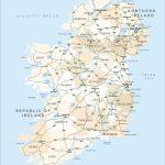 Printable Map Of Ireland | Printable Maps Regarding Printable Road Map Of Ireland