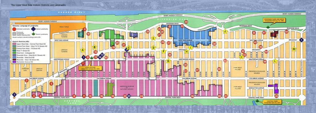 Printable Map Of Manhattan Nyc Manhattan Street Map Printable - Map intended for Map Of Midtown Manhattan Printable