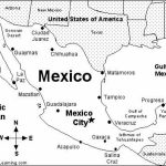 Printable Map Of Mexico   Printable Mexico Map (Central America With Regard To Printable Map Of Mexico