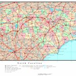Printable Map Of Nc And Travel Information | Download Free Printable With Printable Nc County Map