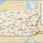 Printable Map Of Pa And Travel Information | Download Free Printable Pertaining To Printable Map Of Pennsylvania