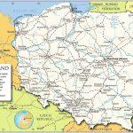Printable Map Of Poland   Map Of Poland Printable (Eastern Europe Throughout Printable Map Of Poland