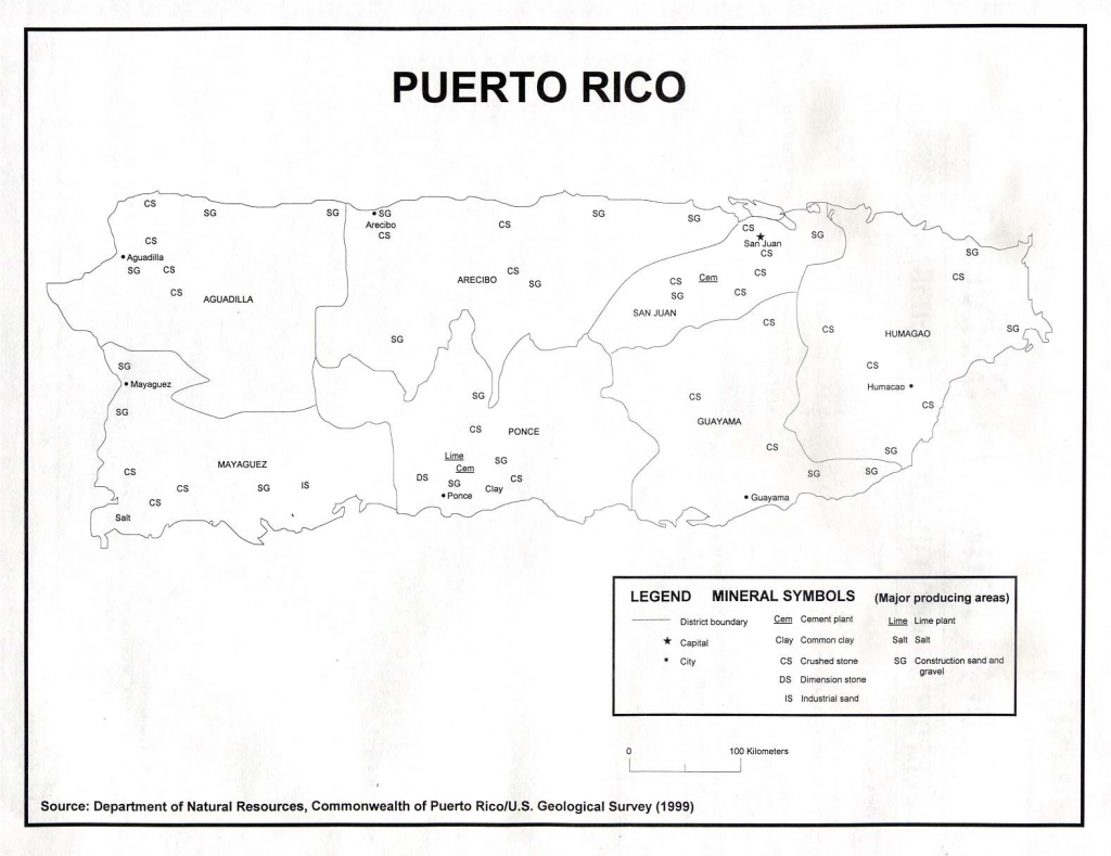 Printable Map Of Puerto Rico Blank Simple | Maps Usa A Free in Printable Map Of Puerto Rico For Kids