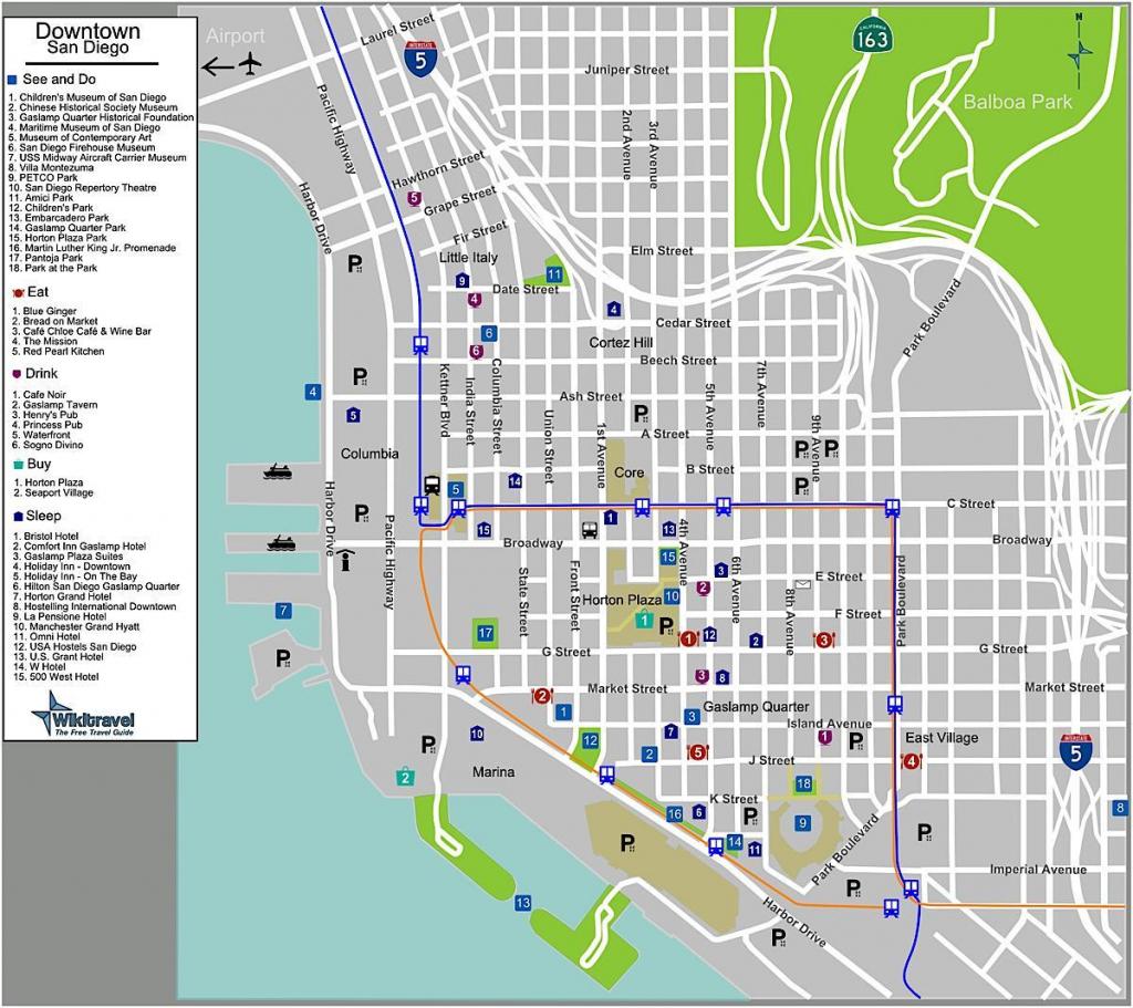 Printable Map Of San Diego - San Diego Map Print (California - Usa) pertaining to Printable Map Of San Diego