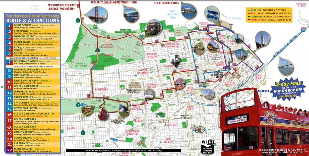 Printable Map Of San Francisco | Printable Maps within Printable Map Of Chinatown San Francisco