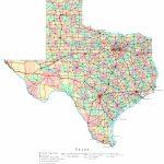 Printable Map Of Texas | Useful Info | Printable Maps, Texas State Within Printable Texas Road Map