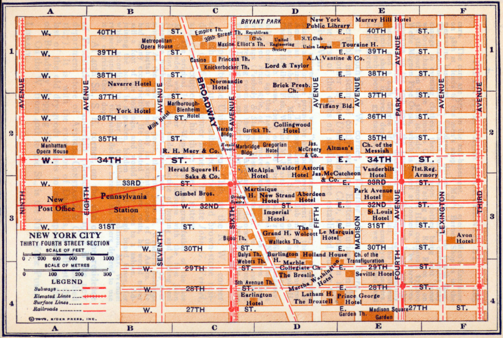 Printable Map Of Times Square Nyc And Travel Information | Download throughout Printable Map Of Times Square