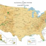 Printable Map Of Us National Parks New United States National Parks With Regard To National Atlas Printable Maps