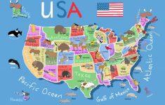 Printable State Maps For Kids