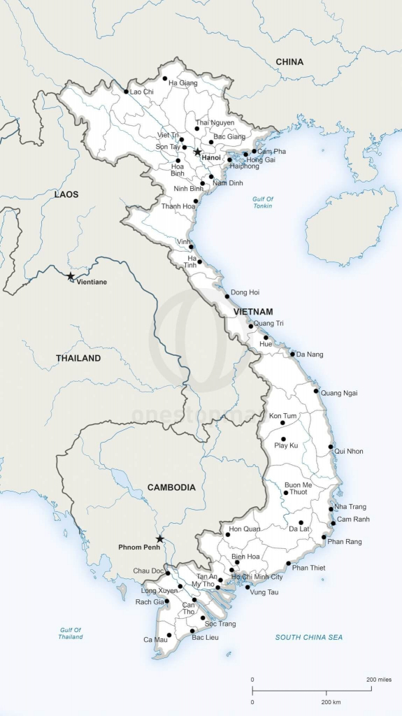 Printable Map Of Vietnam | Printable Maps | Geography | Vietnam Map regarding Printable Map Of Vietnam