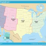 Printable Map Us Canada Time Zones Fresh Map Timezones In United In Maps With Time Zones Printable