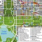 Printable Map Washington Dc | National Mall Map   Washington Dc Inside Tourist Map Of Dc Printable